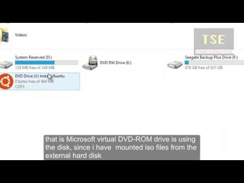 How To Create Microsoft Virtual DVD-ROM Disk Drives in Windows 8.1