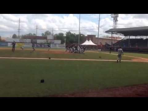 Drury Baseball's Post-Game Celebration After 2014 GLVC Baseball Championship