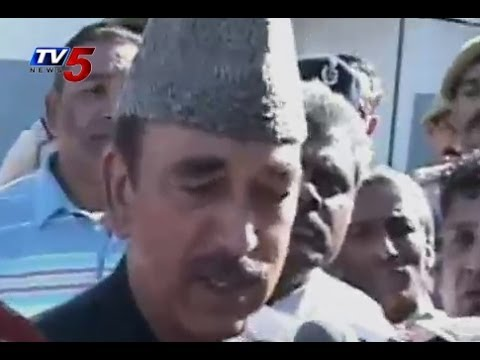 Poll Officer Asked to  Ghulam Nabi Azad  Identity Proof