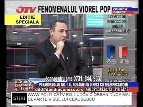 Viorel Pop explica de ce nu mai face tratamente si diagnosticari in direct la TV