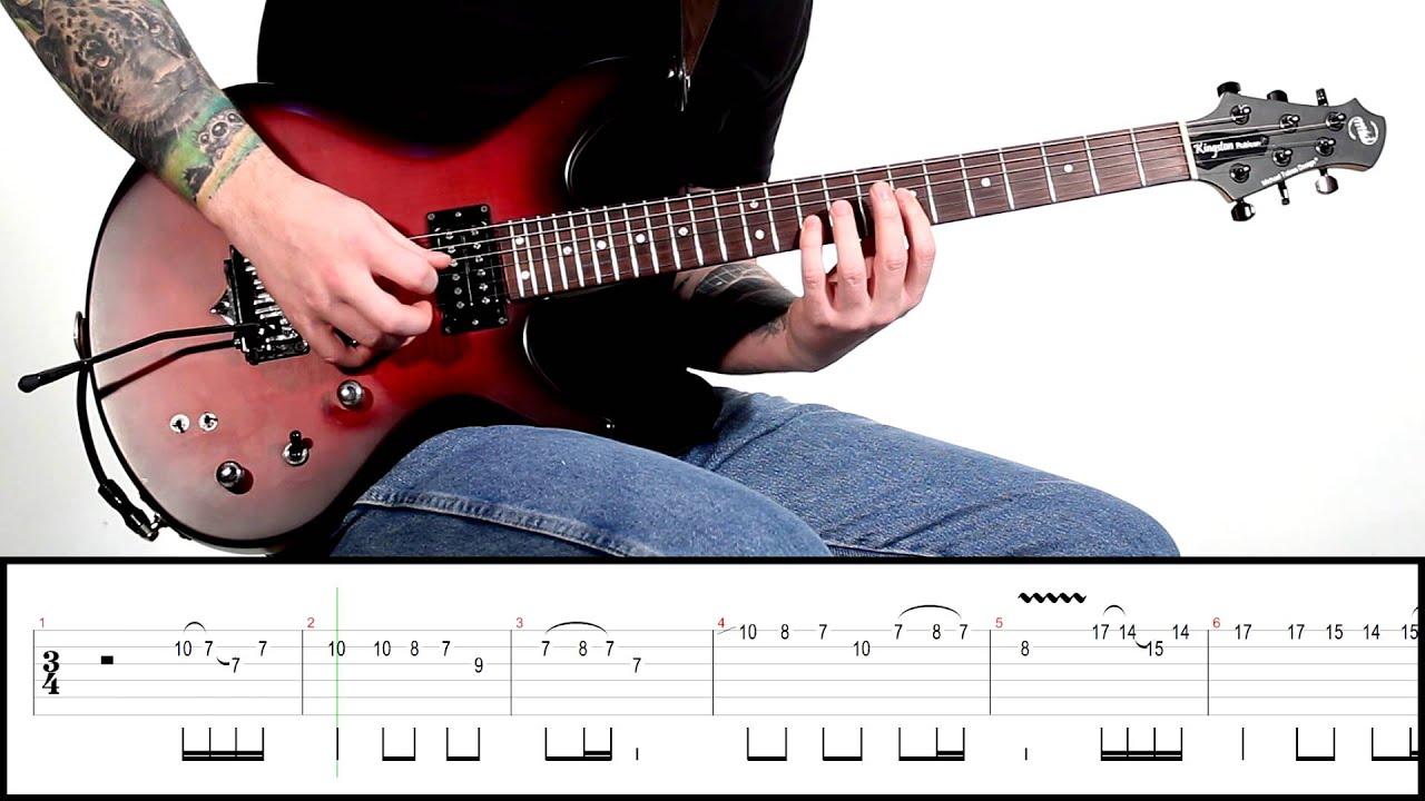 Solo Of The Week: 36 Metallica - One - YouTube