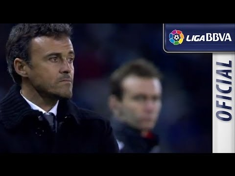 Seguimiento a Luis Enrique en el Celta de Vigo (0-3) FC Barcelona