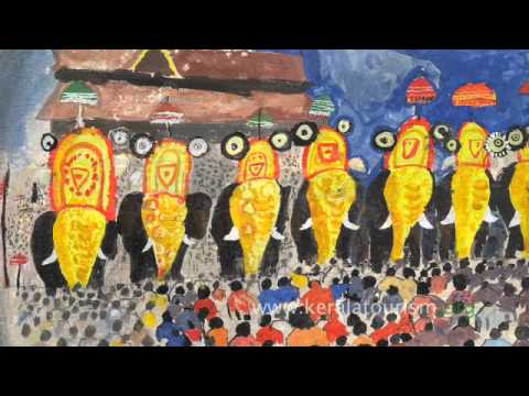 International Painting Competition by Kerala Tourism
