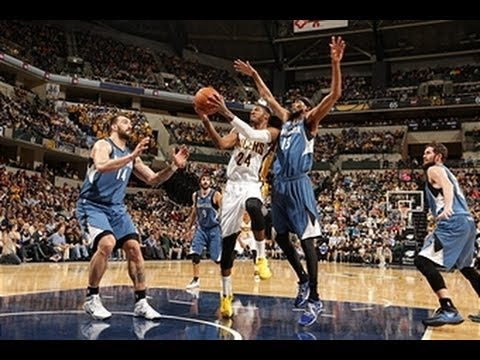 Paul George Paces Indiana Over Minnesota