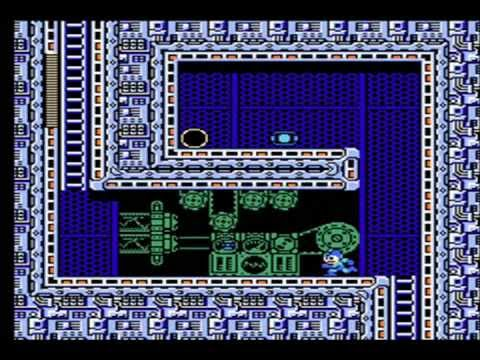 Mega Man 3   #1 Fearsome robots made of tops (TEST)