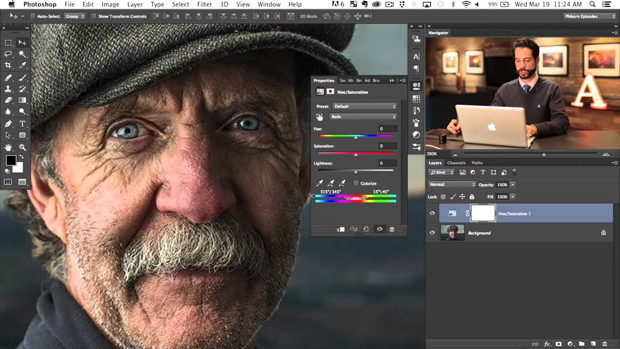 how to make someone look younger in photoshop