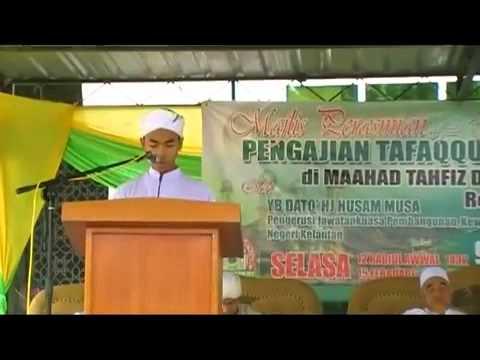 Surah toha ,murattal nahwand Pelajar Ma'ahad Tahfiz Darul Qur'an Wal Qira'at, Repek Pasir Mas