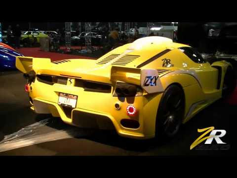 ZR Auto Ferrari ZXX Tears Out of Edmonton Motor Show Venue!