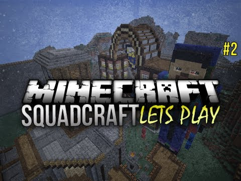Minecraft : Squadcraft Lets Play | SO MUCH STUFF Ep 2