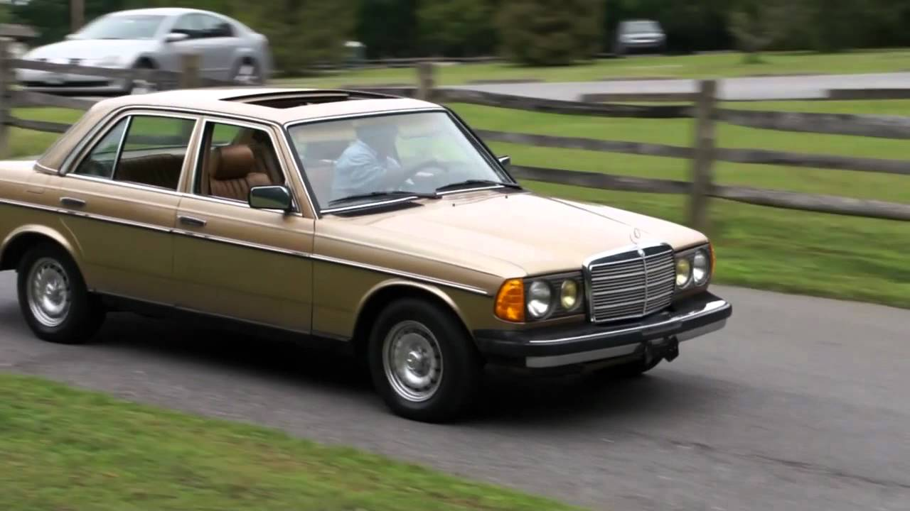 1985 mercedes benz 300d turbo diesel for sale 134 000 for Mercedes benz diesel for sale