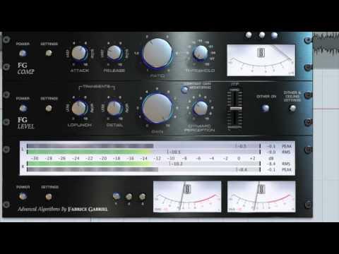 Slate Digital FG-X Mastering Plug-In Tutorial (OFFICIAL)