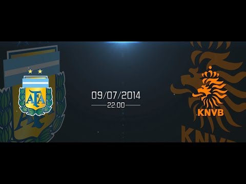 Argentina - Netherlands / PROMO World Cup 09/07/2014