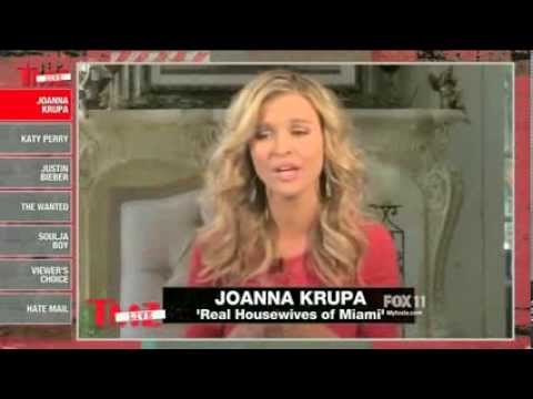 Joanna Krupa chats with TMZ Live on Brandi of RHOBH & Ronda Rousey 1/22/14