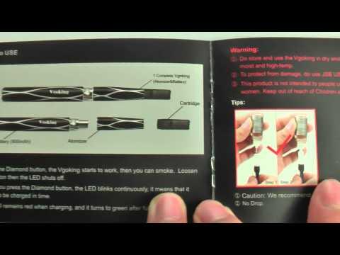 Vgoking E-cigarette user manual