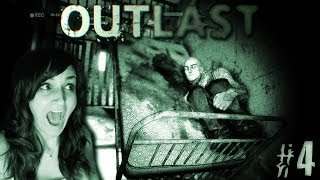 First Time I've Ever Screamed Like a Little Girl - Outlast #4 - w/ Funny Facecam Reactions