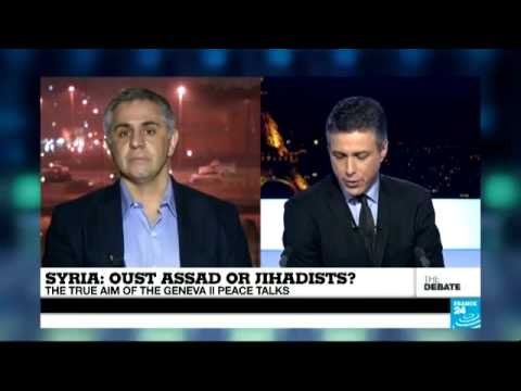 Olivier Guitta in debate on Iran and Syrian peace talks on France 24 (Part 2)