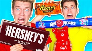 SOUREST GIANT CANDY IN THE WORLD CHALLENGE!!! Warheads Toxic Waste (EXTREMELY SOUR DIY EDIBLE FOOD)