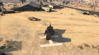 GTA V How To Use Cargobob Helicopter (pick Up Vehicles