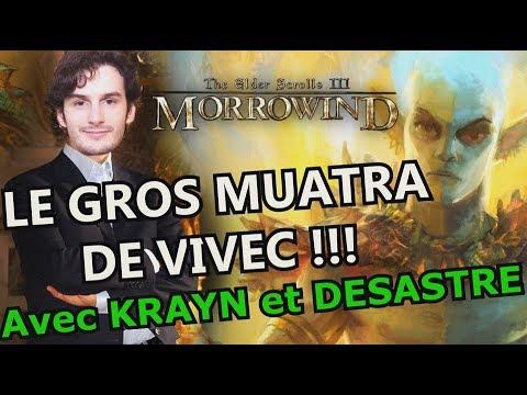 SECRETS D'HISTOIRE sur TESO : LA GROSSE LANCE DE VIVEC !!! (Morrowind) avec Krayn & Desastre