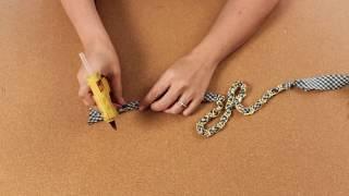 Haz un collar con material reciclado