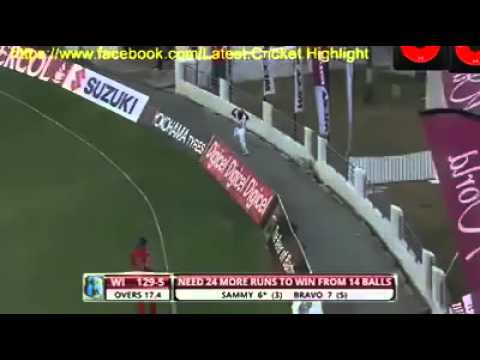 Darren Sammy Score 30 Run on 9 Ball Against Eng