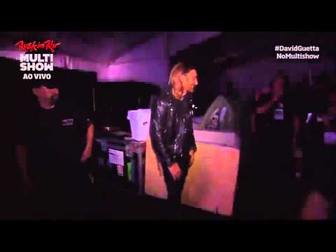 Rock in Rio 2013 ~ David Guetta Entrando no palco - 13/09/2013