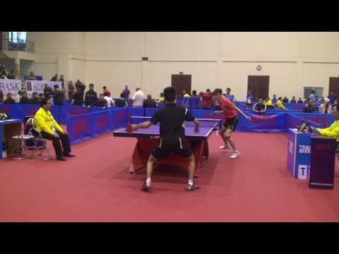 Phú Sóc vs Nam Bo Quân Đội - Giải Bóng Bàn Việt Nam Open 2014