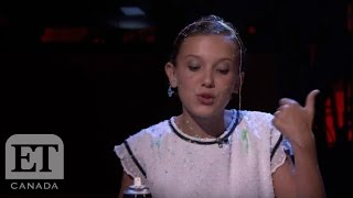 Stranger Things' Millie Brown Raps To Nicki Minaj 'Monster' Verse