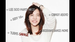 [Sunny Funny Montage] Her aegyo that owes a punch from the members