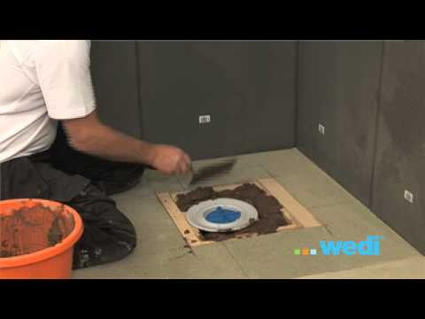 wedi fundo primo shower base from wediuk youtube. Black Bedroom Furniture Sets. Home Design Ideas