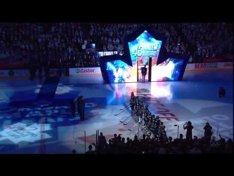Toronto Maple Leafs Home Opener - Player Introductions - Oct 5th 2013 (HD)