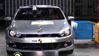 Volkswagen Scirocco çarpışma testi - Euro NCAP - 2009