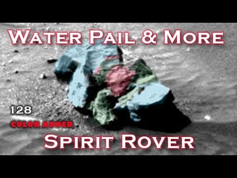 Water Pail & More Found On Mars By NASA Spirit Rover