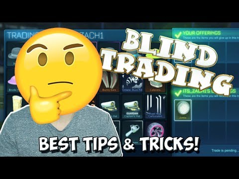 BLIND TRADING | Best Tips & Tricks To Win The BEST Rocket ...