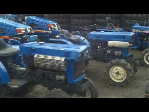 Mini ciągniki-traktory ogrodowe ISEKI. www.traktorki.waw.pl