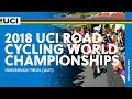 Anna van der Breggen wins World Road Championship (WE) 2018