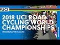 Anna van der Breggen wins World Road Championship (WE) 2018
