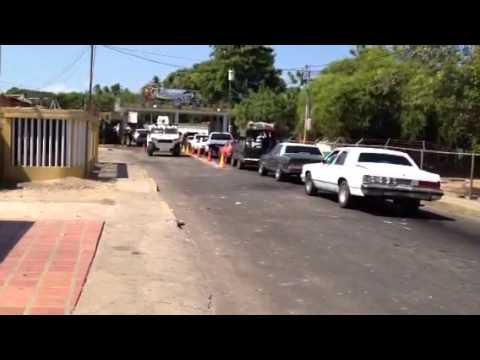 Bachaqueros causaron destrozos en comando policial en Carrasquero