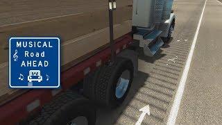 American Truck Simulator - 'Musical Road' Teaser
