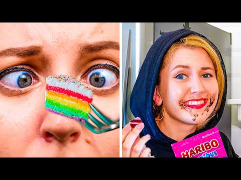RELATABLE FOODIE STRUGGLES! || Awkward Moments with Food That We Face Everyday