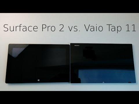 Microsoft Surface Pro 2 vs. Sony Vaio Tap 11