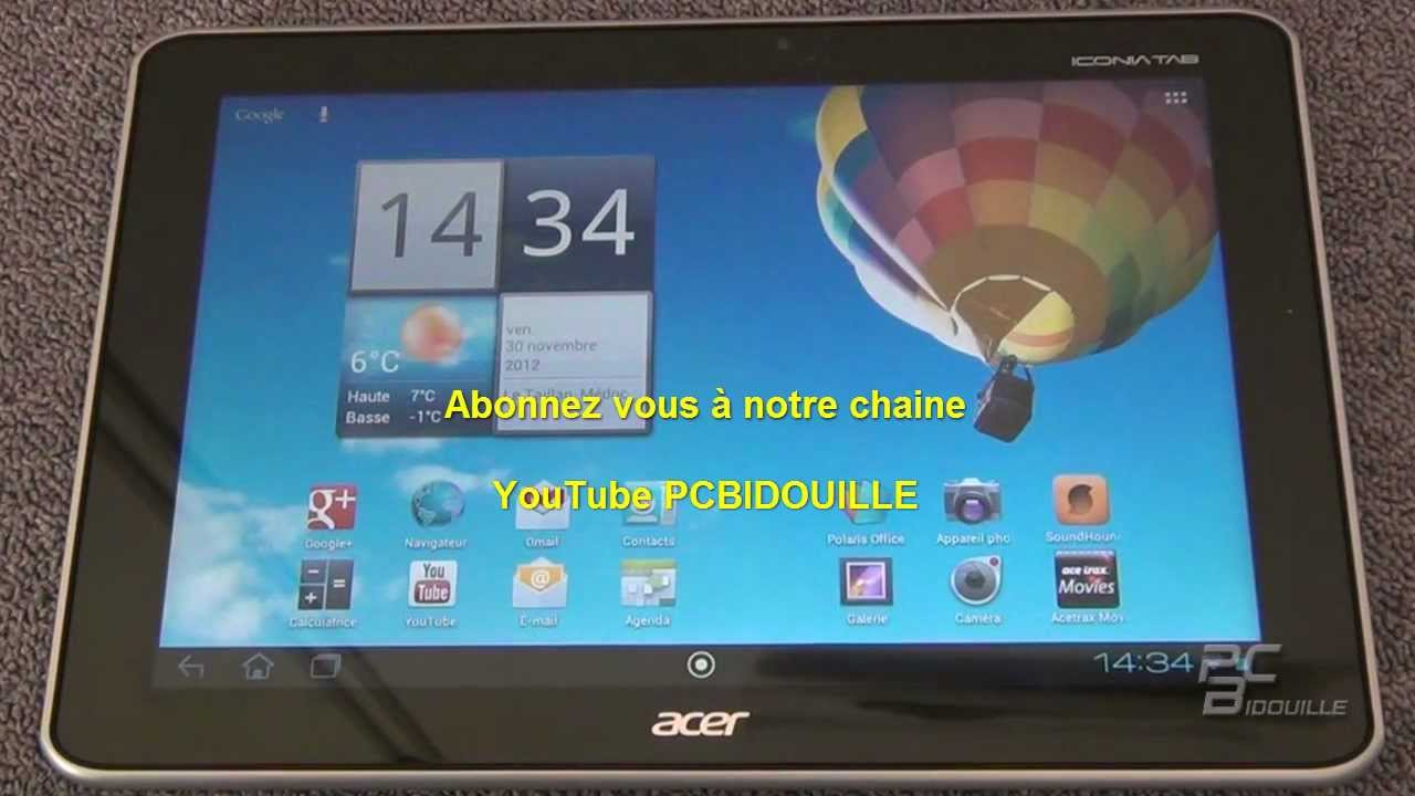 consulter une cl usb sur une tablette android youtube. Black Bedroom Furniture Sets. Home Design Ideas