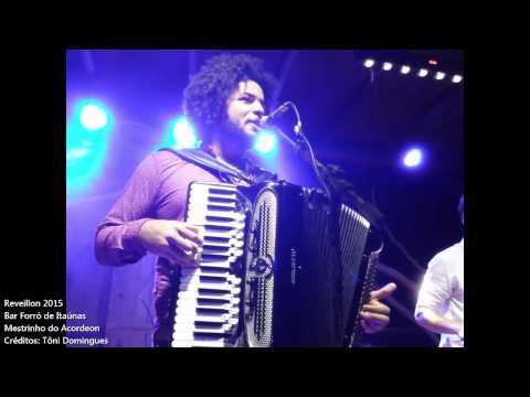 Mestrinho do Acordeon - Bar Forró de Itaúnas - Parte 2