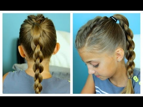 Single Frenchback into 3D Braid