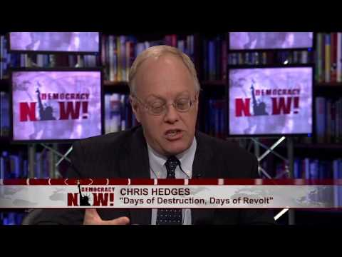 Chris Hedges on Last Moments of Press Freedom, Corporate Consolidation of Power & Media Propaganda