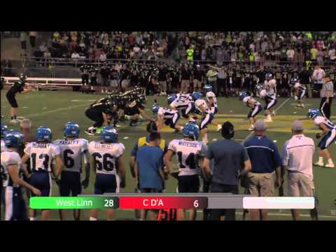 Prep football West Linn v Coeur D'Alene