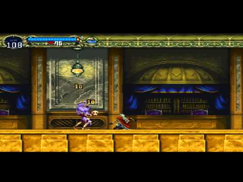 Let's Play Castlevania Symphony of the Night Part #4: Outer Wall/Long Library