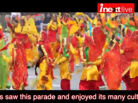 Republic Day Parade 2014 in Lucknow