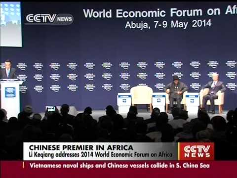 Li Keqiang addresses 2014 World Economic Forum on Africa