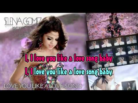 2011 selena gomez the scene single love you like a love song